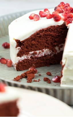Red Velvet taart met Bettine cream cheese frosting